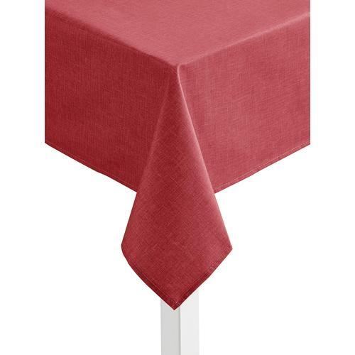 Tischdecke rot Tischdecken Tischwäsche