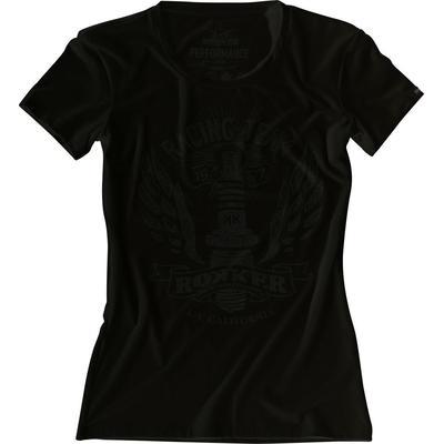 Rokker Performance Racing Team T-Shirt dames, noir, taille L pour Femmes