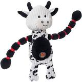 Charming Pet Thunda Tugga Cow Squeaky Plush Dog Toy