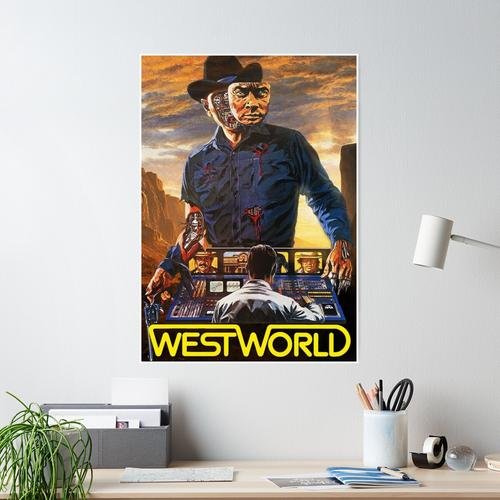 Westworld 1973 Poster Poster