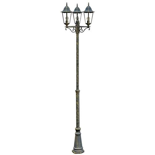 Außen Leuchte Kandelaber Steh Lampe Stand Beleuchtung Laterne Licht Harms 103170