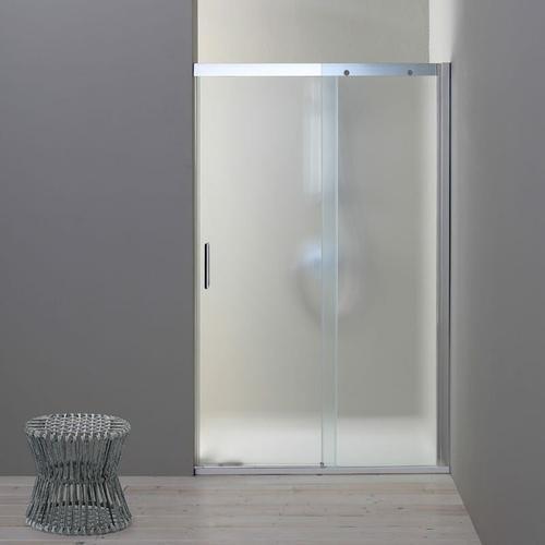 Duschtür Für Nische 140 Cm Modell Dream Mit Festem Element Rechts Aus Mattem Kristallglas