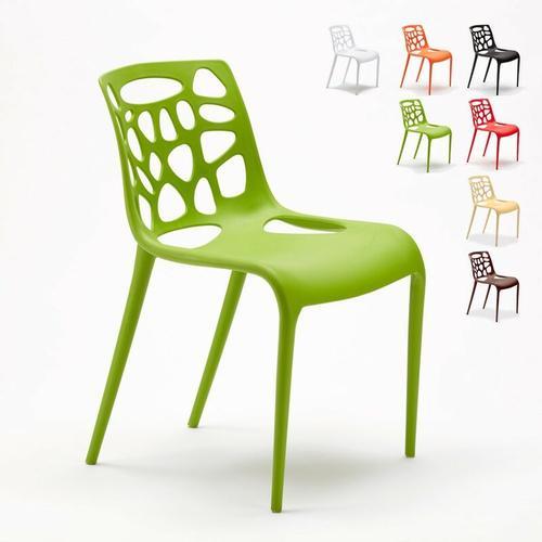 Ahd Amazing Home Design - Set 24 Stühle Küchenstuhl Esstischstuhl Gartenstühle | Grün