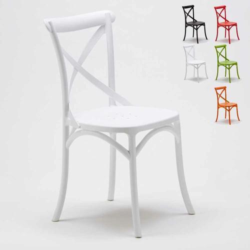 Stühle Küchenstuhl Esstischstuhl Esszimmerstuhl Vintage   Weiß