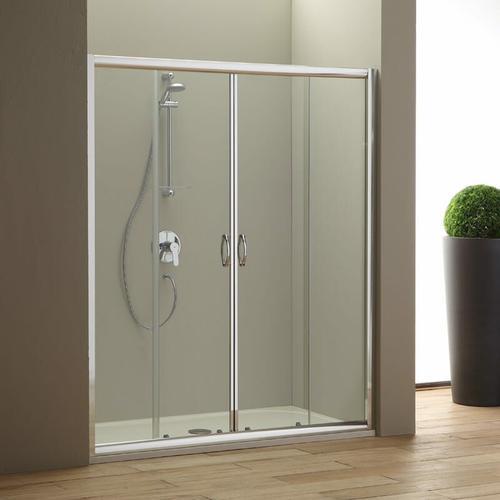 Duschtür Für Nische 170 Cm Modell Giada Aus Transparentem Kristallglas