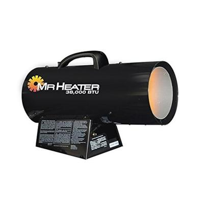 """Mr. Heater Camping Gear Forced Air Propane Heater - 38000 BTU Black MH38QFA F271350 Model: MH38QFA"""