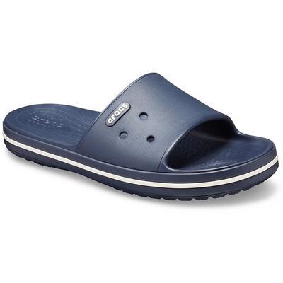Crocs Navy / White Crocband™ Iii Slide Shoes