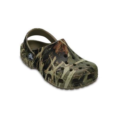 Crocs Khaki Kids' Classic Realtree® Clog Shoes