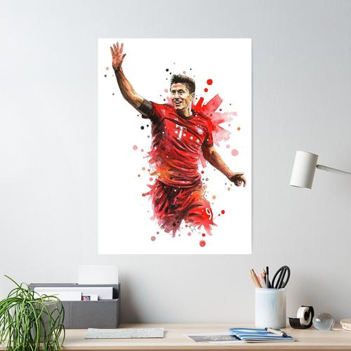 Robert Lewandowski Poster