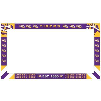 LSU Tigers Big Game Monitor Frame