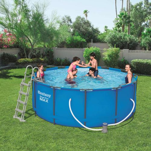 Bestway Steel Pro MAX Swimmingpool-Set Rund 366×122 cm 56420