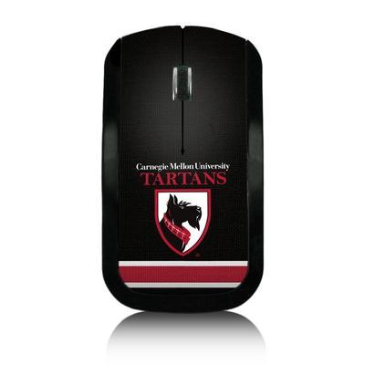 """Carnegie Mellon Tartans Wireless USB Computer Mouse"""