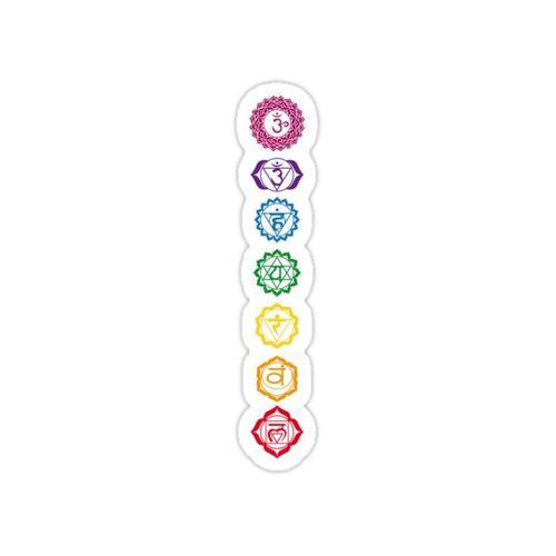 7 Balanced Chakras Sticker