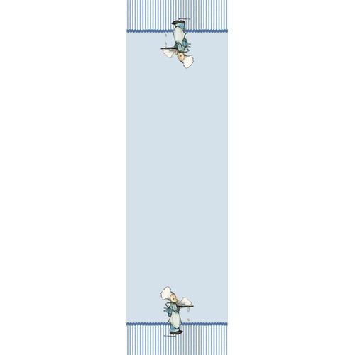 M.I. Hummel Tischläufer Kleine Konditor blau Tischwäsche
