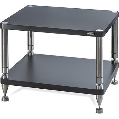 solidsteel HY-2 Audio Rack 2 Shelf- Flat Black