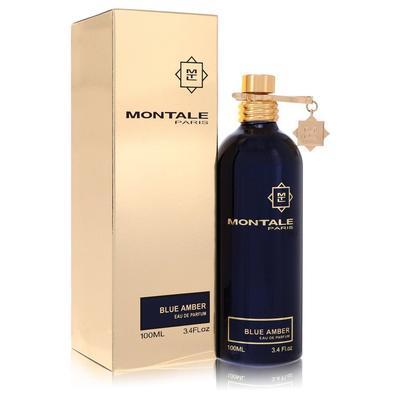 Montale Blue Amber For Women By Montale Eau De Parfum Spray (unisex) 3.4 Oz