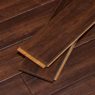 Hand Scraped Bamboo Flooring in Bordeaux by Cali Bamboo, Sample