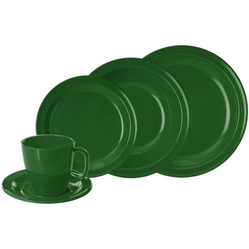 WACA Kombiservice, (Set, 10 tlg.) grün Geschirr-Sets Geschirr, Porzellan Tischaccessoires Haushaltswaren Kombiservice