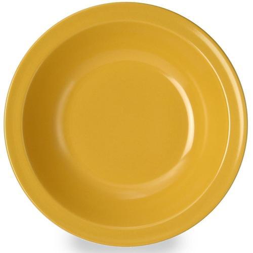 WACA Suppenteller, (Set, 4 St.), Melamin gelb Teller Geschirr, Porzellan Tischaccessoires Haushaltswaren Suppenteller