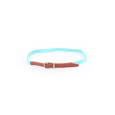 Belt: Blue Solid Accessories - Size Small