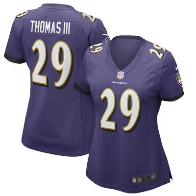 Women's Baltimore Ravens Earl Thomas Nike Purple Game Player Jersey