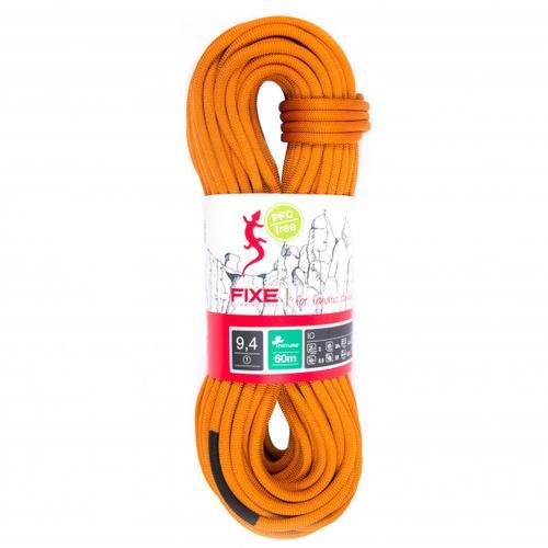 Fixe - Einfachseil IO Nature 9,4 mm - Einfachseil Länge 60 m orange