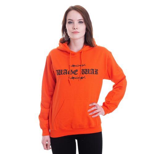 Wage War - Cobweb Orange - Hoodies