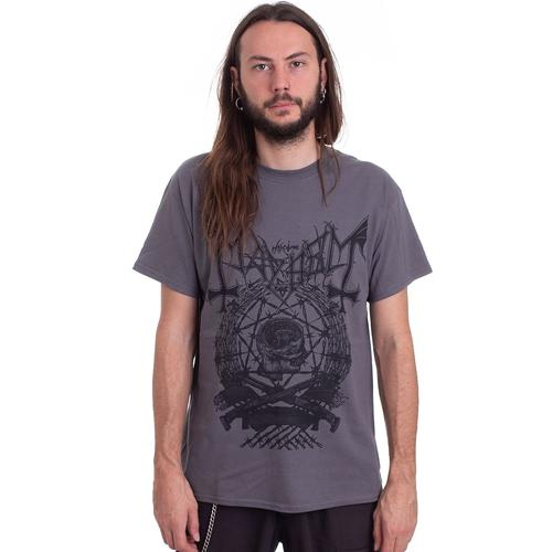 Mayhem - Barbed Wire Grey - - T-Shirts