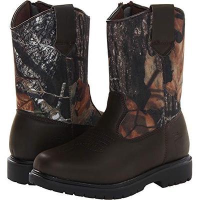 Deer Stags Tour Pull-On Boot (Little Kid/Big Kid),Camouflage/Brown,5 M US Big Kid