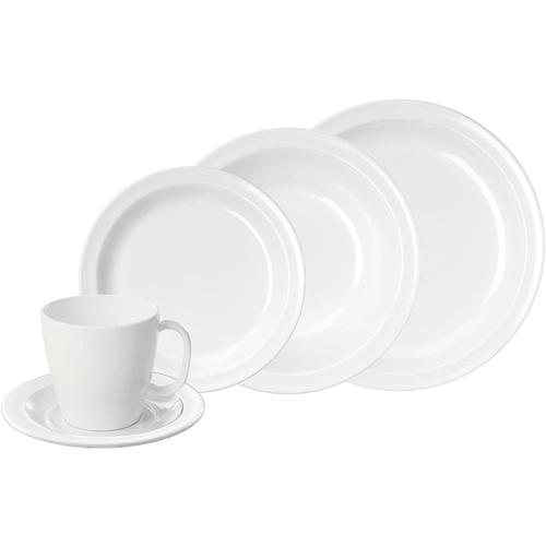WACA Kombiservice, (Set, 10 tlg.) weiß Geschirr-Sets Geschirr, Porzellan Tischaccessoires Haushaltswaren Kombiservice