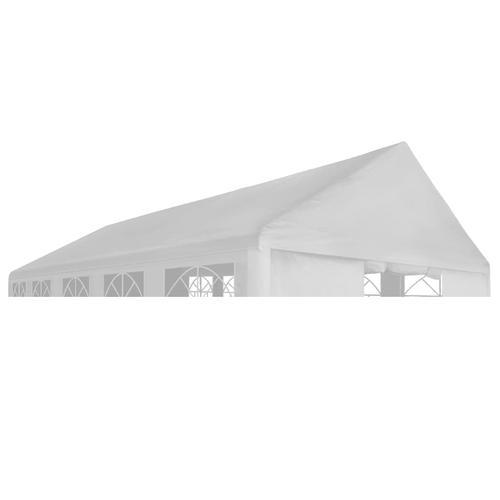vidaXL Partyzeltdach 6 x 12 m Weiß