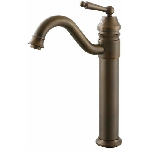 Waschtisch-Armatur, Messing-Ausführung im Antik-Stil