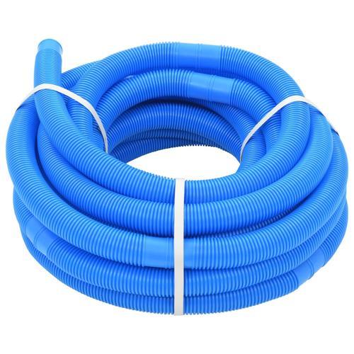vidaXL Poolschlauch Blau 32 mm 15,4 m