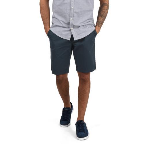 Blend Chinoshorts Ragna, (mit abnehmbarem Gürtel), kurze Hose mit Gürtel blau Herren Chinohosen Hosen