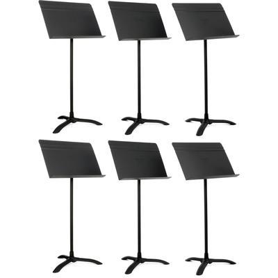 Manhasset Model 48 Symphony Music Stand 6-pack - Black