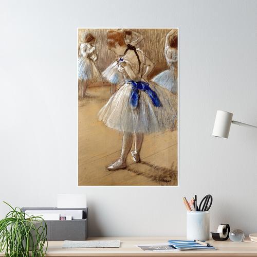 Edgar Degas Dancer Poster
