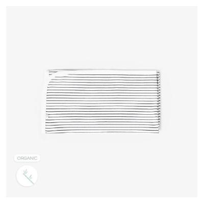 Mori - Grey Stripe Blanket - Gre...