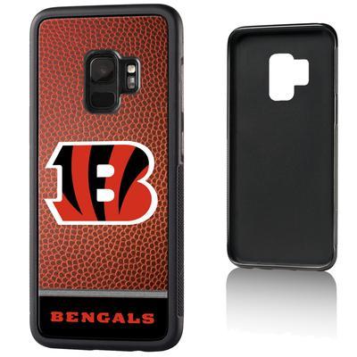 Cincinnati Bengals Galaxy Bump Case with Football Design