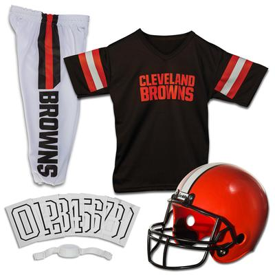 Youth Cleveland Browns Franklin Sports Deluxe Uniform Set