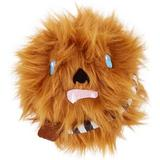 Fetch for Pets Star Wars Chewbacca Squeaky Plush Dog Toy, 4-in
