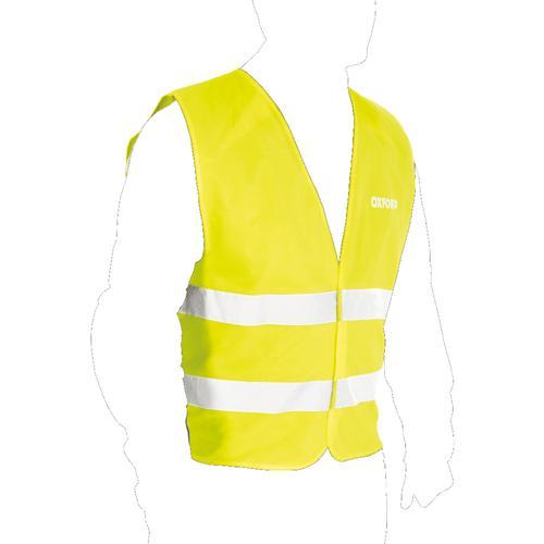 Oxford Warnweste Faltbar, gelb, Größe L XL