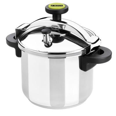 Matfer 013204 8 1/2 qt Pressure Cooker w/ Plastic Handles, Stainless Steel
