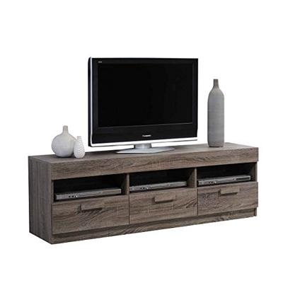 """Acme Furniture Acme 91167 Alvin TV Stand for Tvsup to 60"""", Rustic Oak"""