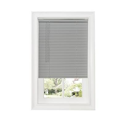 "Achim Home Furnishings DSG223GY06 Cordless GII Deluxe Sundown 1"" Room Darkening Mini Blind, Grey, 23"
