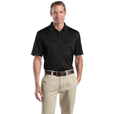 Cornerstone Men's Select Snag Proof Polo, Black, Small
