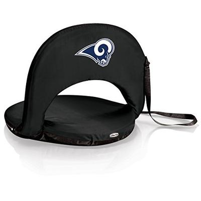 PICNIC TIME NFL LA Rams Oniva Reclining Seat, Black