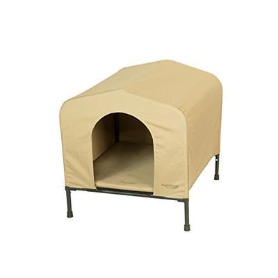 Heininger 3096 PortablePET Large Khaki HoundHouse Kennel and Shelter