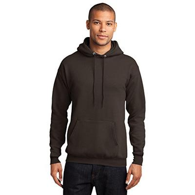 Port & Company Men's Classic Pullover Hooded 3XL Dark Chocolate Brown
